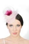 Fascinating Evelina with fascinator
