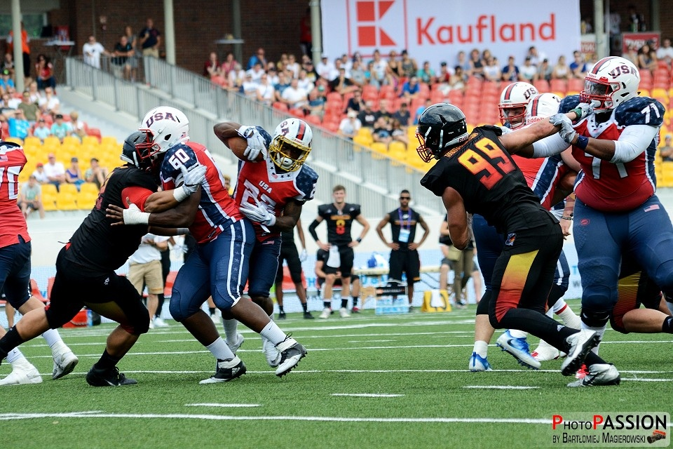 American Football - The World Games 2017 in Wroclaw